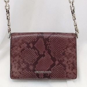 🆕️Michael Kors Daniela flap Chain crossbody😈💜🔗